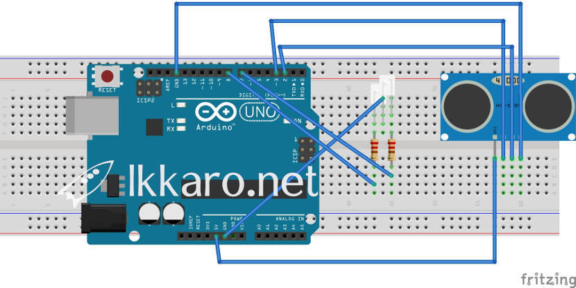 Multitasking in Arduino edited with fritzing