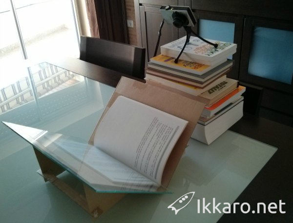 how to digitize books at home