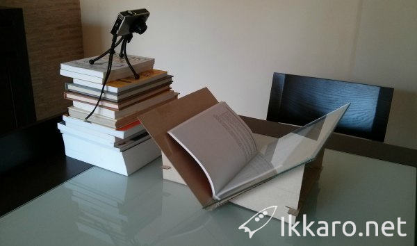 How to digitize books with a camera at home and convert into ebooks at