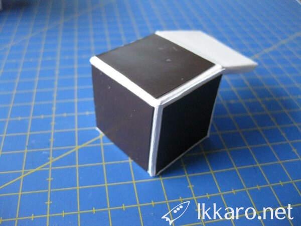 single cube por rubix cube