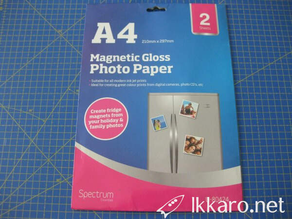 magnetic gloss photo paper