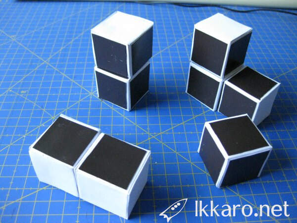 cubes for rubik with magnetic paper