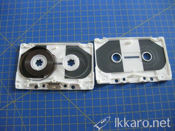 Disassemble a cassette to fix it