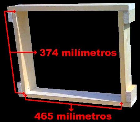 mesurements beehive