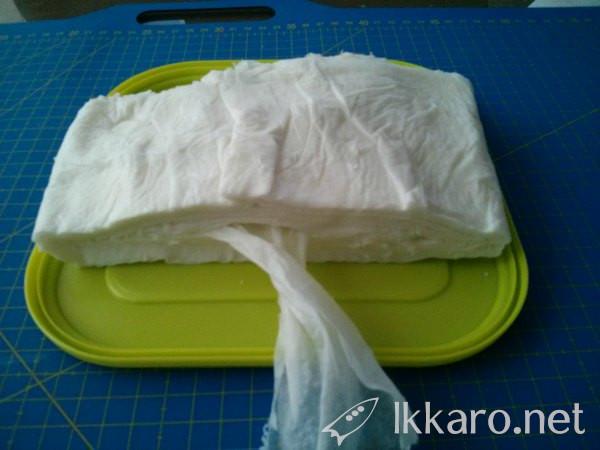 Fail Homemade wipes